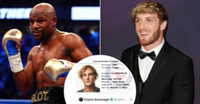 Logan Paul Deletes Tweet To Conor McGregor Coach In Response To Floyd Mayweather Fight