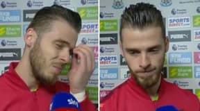 Emotional David De Gea Slams Manchester United's Season After 1-0 Defeat To Newcastle