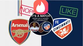 FC Cincinnati Produce Incredible Tinder Signing Announcement Video