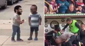 Mohamed Salah Posts Hilarious Video Showing Him And Sadio Mane Have Made Up