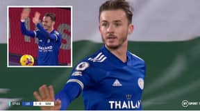 James Maddison Performs Socially Distant Celebration In Hilarious Moment