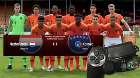 Netherlands U17's Record 1-1 Draw Against Kosovo Despite Having 90% Possession