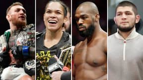 11 MMA Legends Ranked Using Score System To Determine Who Is The GOAT Once And For All