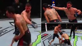 Max Holloway Entered 'The Matrix' With Amazing Head Movement At UFC Fight Island 7