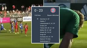 Bayern Munich Average A Goal Every 3.91 Minutes In Brutal 23-0 Pre-Season Friendly