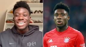 Alphonso Davies Reveals First Player He Swapped Jerseys With
