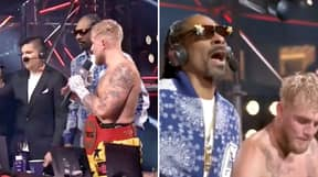 "Snoop Dogg Screams ""Dana White, Where's My Money At?"" After Winning $2 Million Bet On Jake Paul Fight"