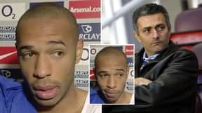 The Thierry Henry Post-Match Interview That Made Jose Mourinho And His Mind Games Look Foolish