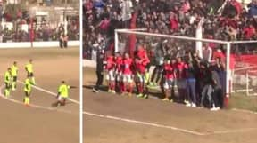 Paulo Dybala Once Scored The Perfect Free-Kick Past Biggest Wall Ever