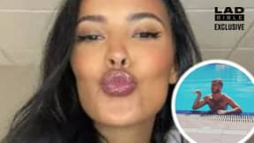 Football Fan Accidentally Gets Maya Jama's Number When Woman Gives Him False One
