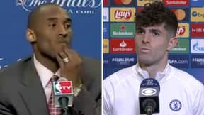 Christian Pulisic Showed 'Elite Levels Of Kobe Bryant Energy' When Asked About Scoring Against Real Madrid