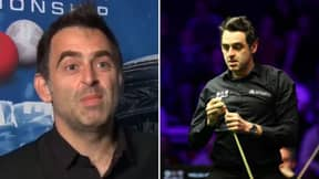 Ronnie O'Sullivan Delivers One Of The Most Brutal Interviews In Sport History