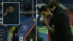 Angel Di Maria Substituted After A Robbery At His House During PSG Vs Nantes
