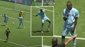 10 Years Ago Today Mario Balotelli Tried A Flick In Pre-Season And Roberto Mancini Lost It