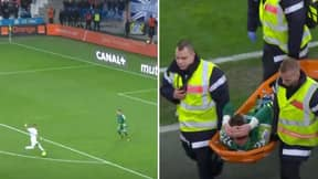 Dimitri Payet Pulled Off A Dummy So Outrageous That Goalkeeper Had To Be Stretchered Off