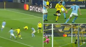 Jude Bellingham Scores First Champions League Goal With Stunning Strike Against Man City
