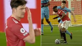 """Manchester United Captain Harry Maguire Heard Shouting At Aaron Wan-Bissaka: """"F**king Tidy Up"""""""