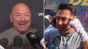 """STFU U Crack Head"" - Dana White Loses His Head As He Fires Back At De La Hoya Over UFC Pay"