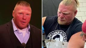 Brock Lesnar Now Has A Ponytail And He Still Looks Hard As Nails