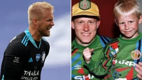 Manchester United Plotting Sensational Move For Leicester City's Kasper Schmeichel, Son Of Club Legend Peter
