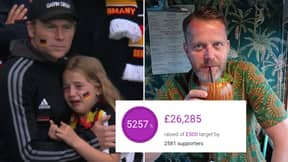 Man Finally Explains Why He Set Up JustGiving Page For Crying German Girl As Total Passes £25,000