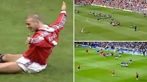 Compilation Of All Of David Beckham's Premier League Free Kick Goals