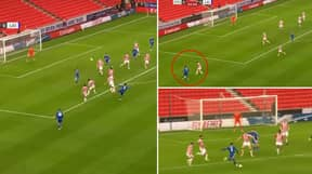 James Justin Scores Brilliant Goal For Leicester City Vs Stoke City