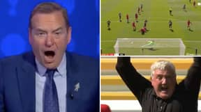 Jeff Stelling's Reaction To Joe Willock's 95th Minute Equaliser Against Liverpool On Sky Sports Soccer Saturday Was Sensational