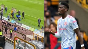 Wolves Fans Chant 'Cheat, Cheat, Cheat' At Paul Pogba, He Responds With Classy Gesture