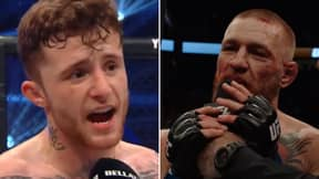 'Conor McGregor Wannabe' Gives Scathing Post-Fight Interview Exactly Like The Man Himself