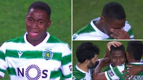 Sporting CP Wonderkid Dário Essugo Cried Tears Of Happiness After Becoming Youngest Player In Club's History