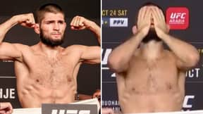 Shocked MMA Fans Raise Concerns Over Khabib Nurmagomedov's Physique After UFC 254 Weigh-In