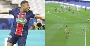 Kylian Mbappe Shows Insane Speed And Skill With Run From Inside Own Area
