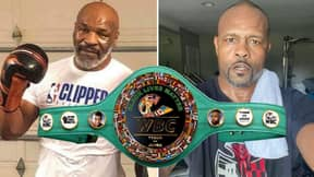 Mike Tyson vs. Roy Jones Jr Will Have A Belt On The Line When They Meet Next Month
