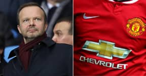 Manchester United In Talks Over £70 Million New Shirt Sponsorship To Replace Chevrolet