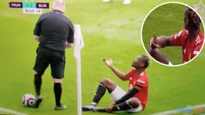 Paul Pogba Was Livid After Referee Jon Moss Told Him 'Don't Take The P*ss'