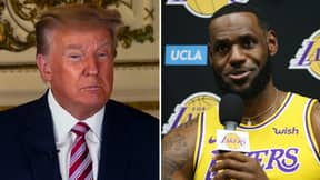 Donald Trump Accuses LeBron James Of 'Racism' After Targeting Police Officer In Controversial Tweet