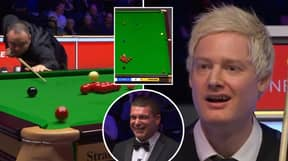 Stephen Maguire's Incredible Fouled Trick Shot Shocked Neil Robertson