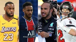 The World's Highest-Paid Athletes Of 2021 Have Been Revealed