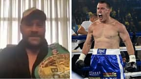 Tyson Fury Heaps Praise On Former Rugby League Player-Turned-Boxer Paul Gallen