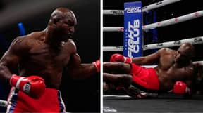 Evander Holyfield's Comeback Fight Roasted By Fans After Legend Gets TKO'd In The First Round