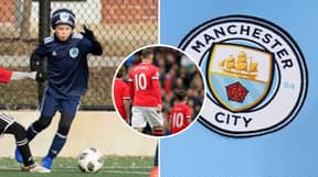 Wayne Rooney's 9-Year Old Son Kai Poised To Return To Manchester City's Academy