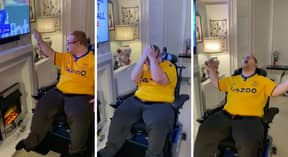 Young Lad With Down Syndrome Overwhelmed With Joy After Last-Minute Everton Goal