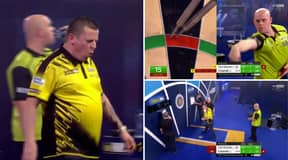 Dave Chisnall And Michael Van Gerwen Play Out The Greatest Leg In World Championship Darts History