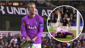 On This Day: Spurs Striker Harry Kane Became A Goalkeeper, It Didn't End Well