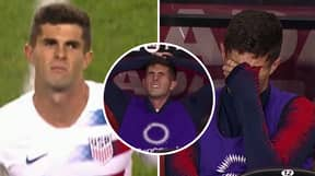 Emotional Christian Pulisic Reacts To Being Subbed Off For USA Against Canada