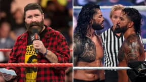 WWE Legend Mick Foley Thinks Roman Reigns And Jey Uso Will Main Event Hell In A Cell