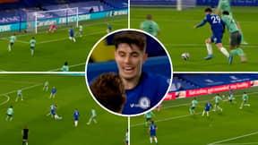 Kai Havertz Compilation Vs Everton Highlights His 'Masterclass' Performance As A False Nine