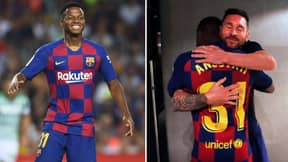 Ansu Fati, 16, Became Barcelona's Youngest Ever Champions League Player