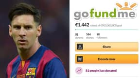 Football Fan Sets Up A Fundraising Page So His Club Can Sign Lionel Messi